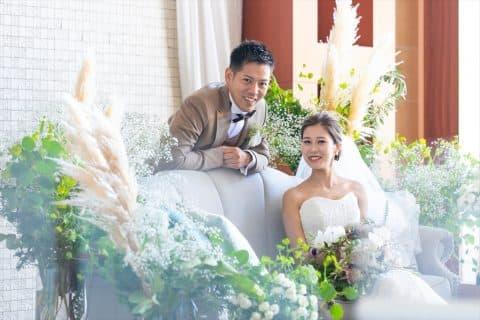 【Summer Wedding】~White×Green×Gold~